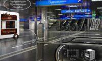 airport kiosk