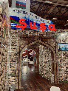 azerbaijan republic stand_